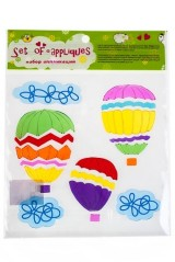 Набор аппликаций Парящие шары