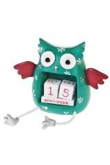 Календарь настольный Удивленная сова