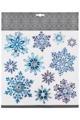 Набор наклеек Красивые снежинки