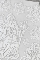 Набор наклеек новогодних Время подарков