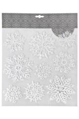 Набор наклеек Прекрасные снежинки