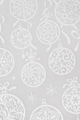 Набор наклеек Новогодние шары