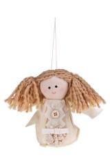 Кукла мягконабивная Малышка с хвостиками