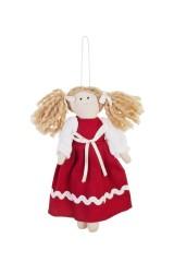 Кукла мягконабивная Малышка в платьишке