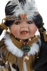 Кукла Маленькая индианка