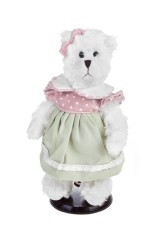 Игрушка мягконабивная Мишка в летнем платье