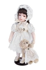 Кукла Леди с мишкой
