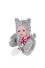 Кукла мягконабивная Маленький котенок с шарфиком