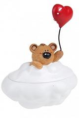 Шкатулка Мишка на облаке