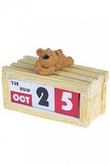 Календарь настольный Мечтательный мишка