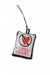 Украшение для мобильного телефона Нет! одиноким сердцам