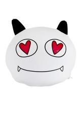 Игрушка/подушка-подголовник Дьяволенок в сердцах