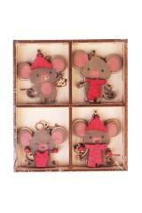 Набор украшений декоративных Веселые мышата