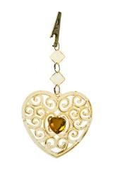 Украшение декоративное Резное сердце