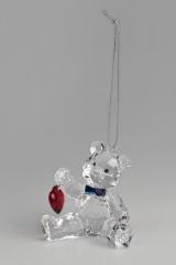 Украшение декоративное Миша с сердцем
