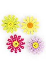 Набор держателей-магнитов Нежные цветы