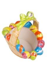 Корзинка для яиц декор. Яркая Пасха