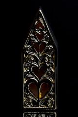 Украшение для интерьера светящееся Дом с сердцами