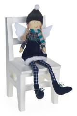 Кукла декор. Ангелочек в шапочке