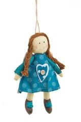 Кукла мягконабивная Ангелочек-малыш