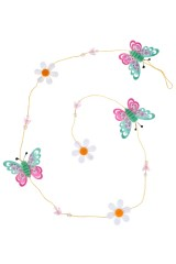 Украшение декоративное Гирлянда из бабочек