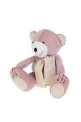 Игрушка мягконабивная Розовый мишка