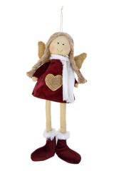 Кукла мягконабивная Девочка-ангел