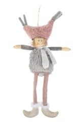 Кукла мягконабивная Малышка в смешной шапке