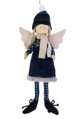Кукла мягконабивная Ангелочек в шапочке