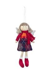 Кукла мягконабивная Ангелочек в шарфике