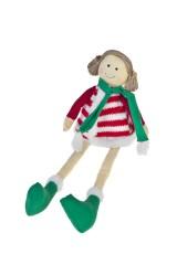 Кукла мягконабивная Счастливая девочка