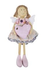 Кукла декоративная Ангел с сердцем