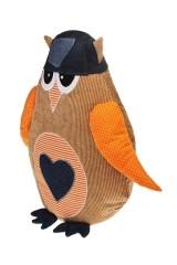 Игрушка мягкая Смешная сова