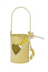 Украшение декоративное Ведерко с сердцем