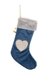 Украшение декоративное Носок - Сердечко