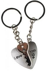 Набор брелоков Ключ от сердца -1