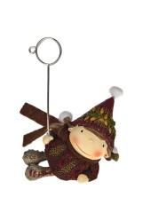 Держатель для фото Малыш в вязаной шапочке
