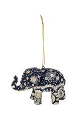 Украшение декоративное Слон с узорами