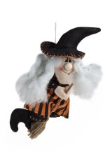 Кукла декоративная Летящая ведьмочка