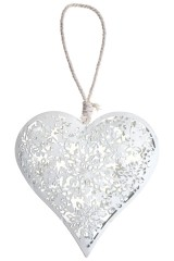 Украшение декоративное Ажурное сердце