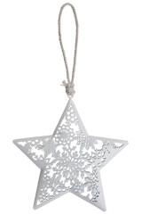 Украшение декоративное Ажурная звезда