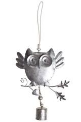 Украшение декоративное Удивленная сова