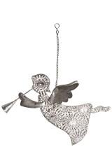 Украшение декоративное Ангелочек с дудочкой