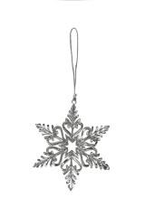 Украшение декоративное Прекрасная снежинка