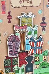 Пакет подарочный новогодний Подарки