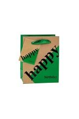 Пакет подарочный Happy