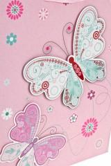 Пакет подарочный Парящие бабочки