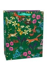 Пакет подарочный Лесные зверюшки