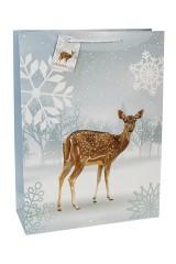 Пакет подарочный новогодний Милый олененок