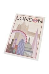 Записная книжка Ретро-Лондон